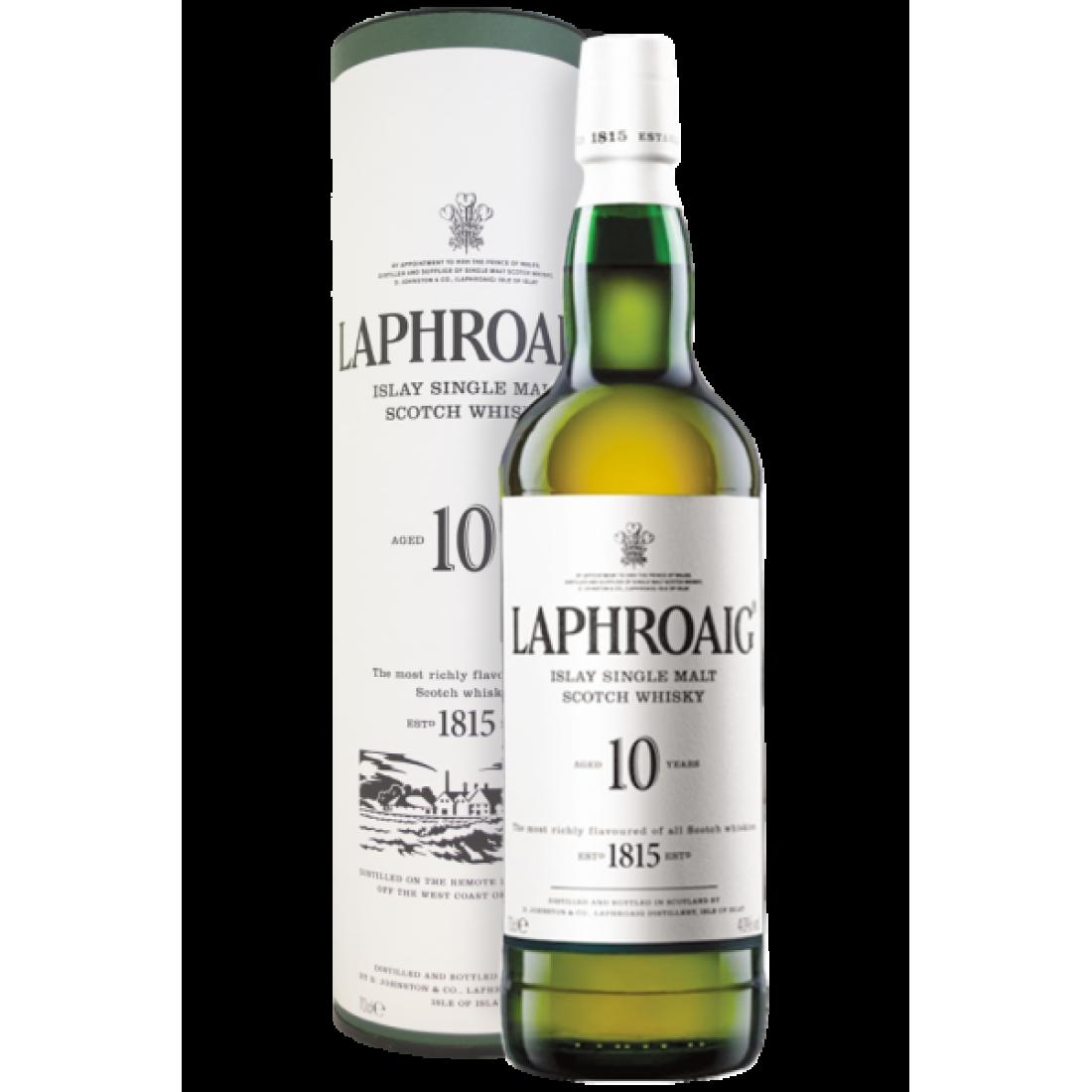Laphroaig 10 years old (70 cl) - Astucciato