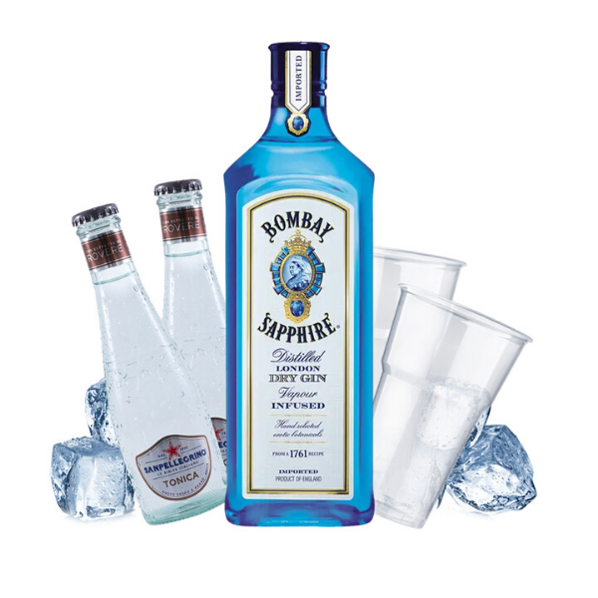 Bombay - Gin Tonic Kit - per 10 persone