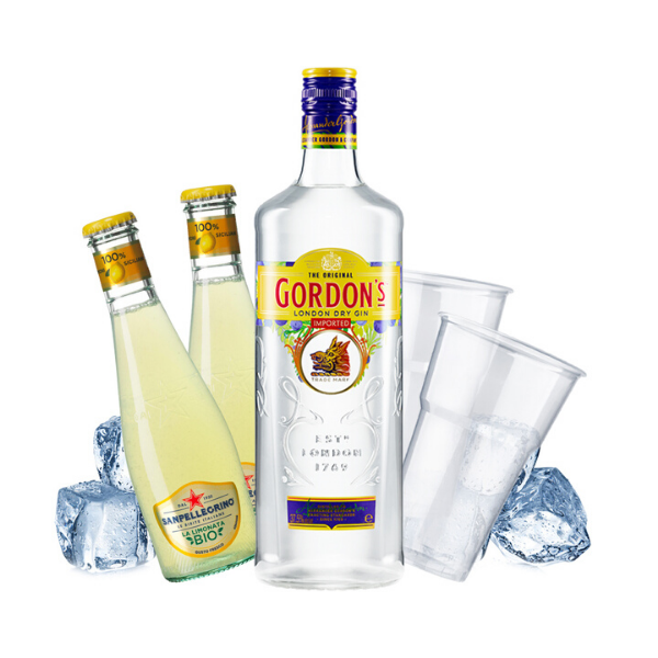 Gordon's - Gin Lemon Kit - per 10 persone