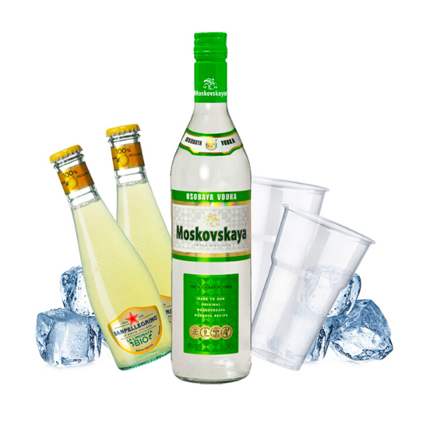 Moskovskaya - Vodka Lemon Kit - per 10 persone