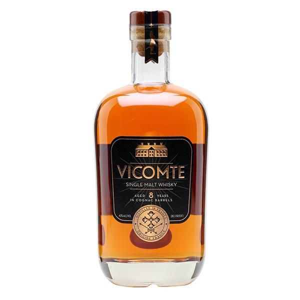 Vicomte 8 Year Old Single Malt Whisky (70 cl)