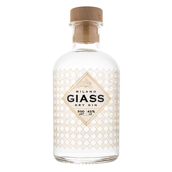 GIASS London dry gin (50 cl)