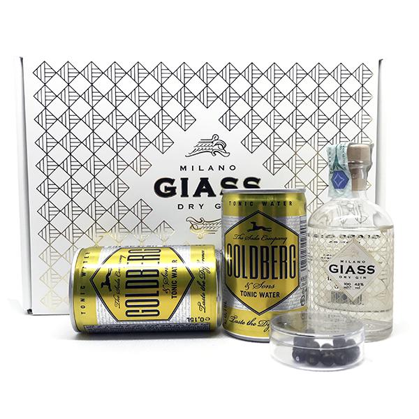 Confezione Gin Giass - Gin Tonic Kit - per 2 persone