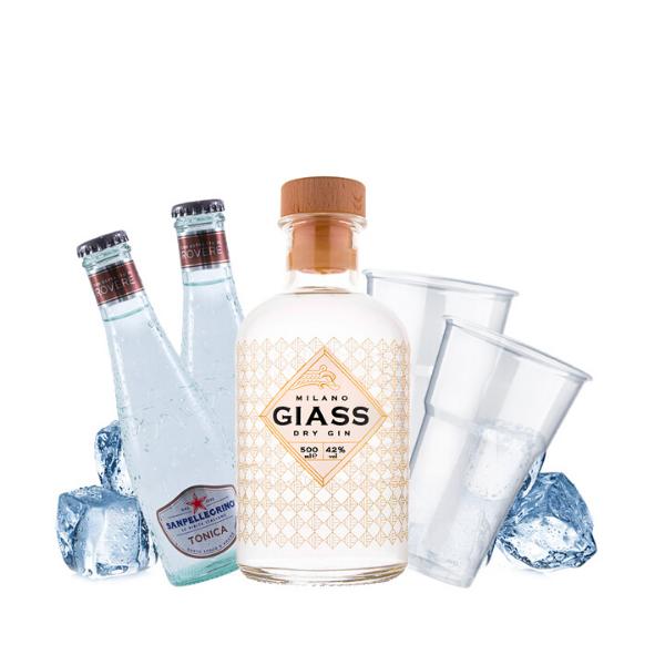 Gin Giass - Gin Tonic Kit - per 10 persone