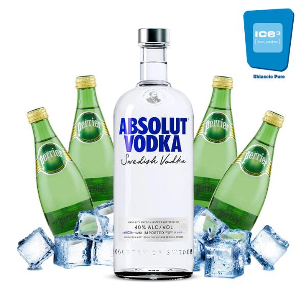 Absolut - Vodka Soda Kit - per 10 persone