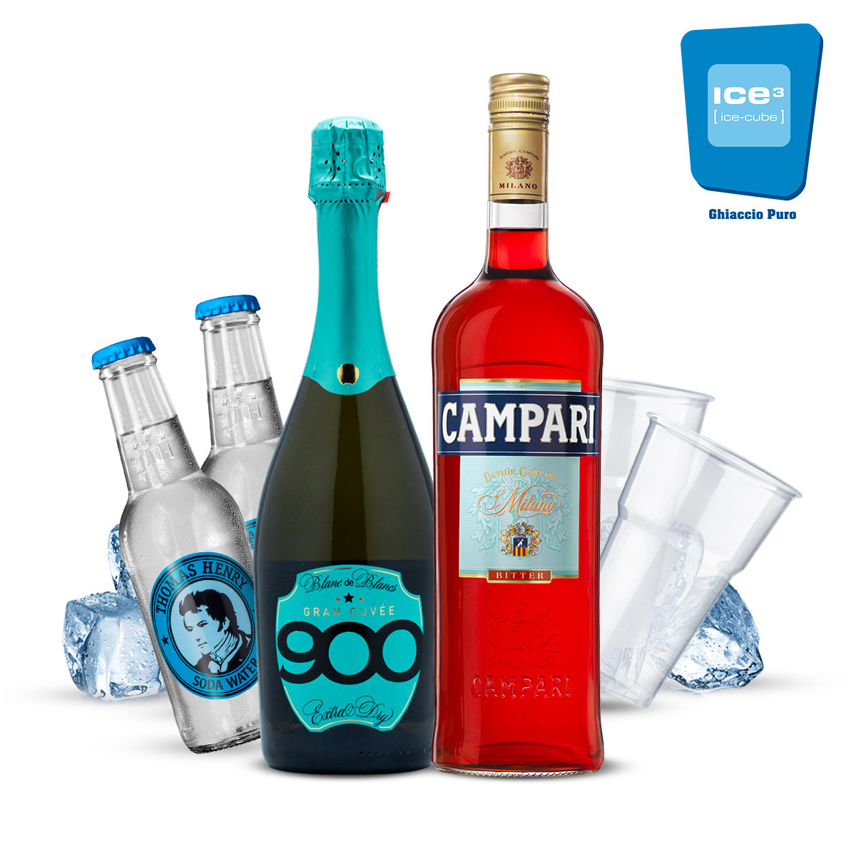 Campari - Spritz Cocktail Kit - per 10 persone