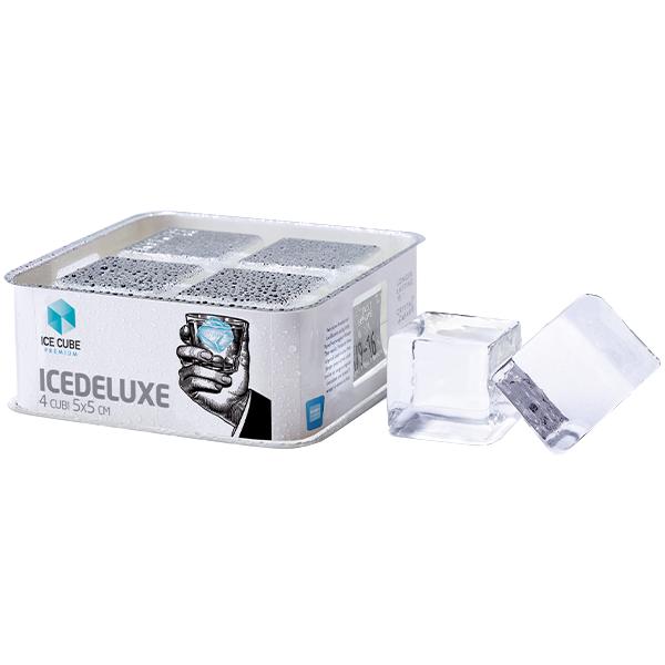 Ice Deluxe (Confezione da 4 cubi 5x5 cm³)