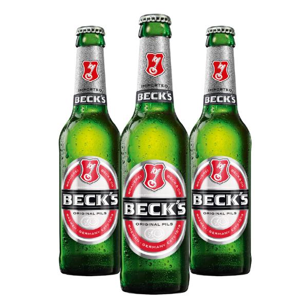 Beck's Original Pils (33 cl) 3 pezzi