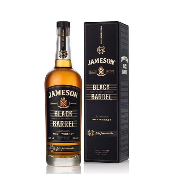 Triple Distilled Irish Whiskey Black Barrel (70 cl)