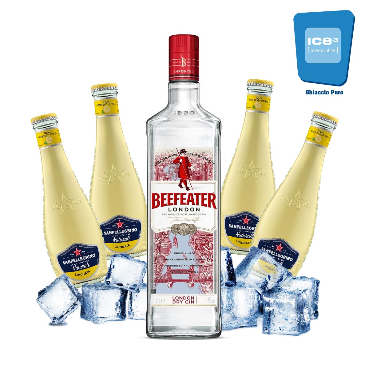 Beefeater - Gin Lemon Kit - per 10 persone