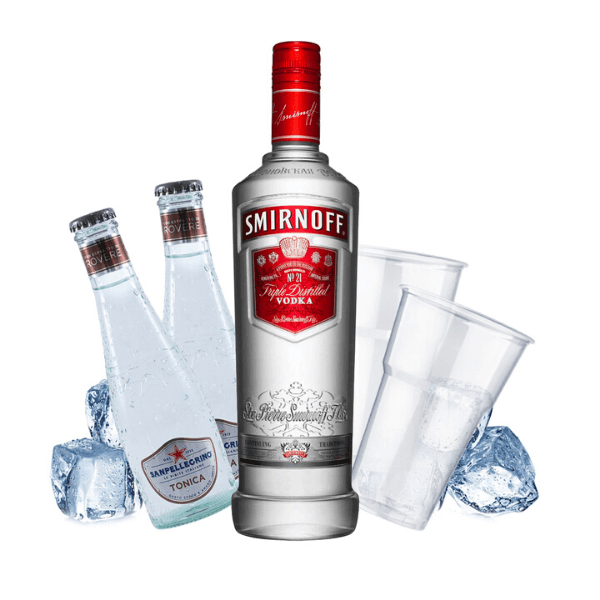 Smirnoff - Vodka Tonic Kit - per 10 persone