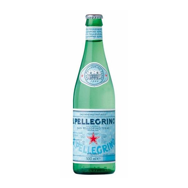 Acqua Frizzante Sanpellegrino (75 cl) - Fredda
