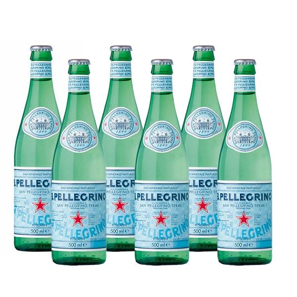 Acqua Frizzante Sanpellegrino (75 cl) x6 - Temperatura Ambiente