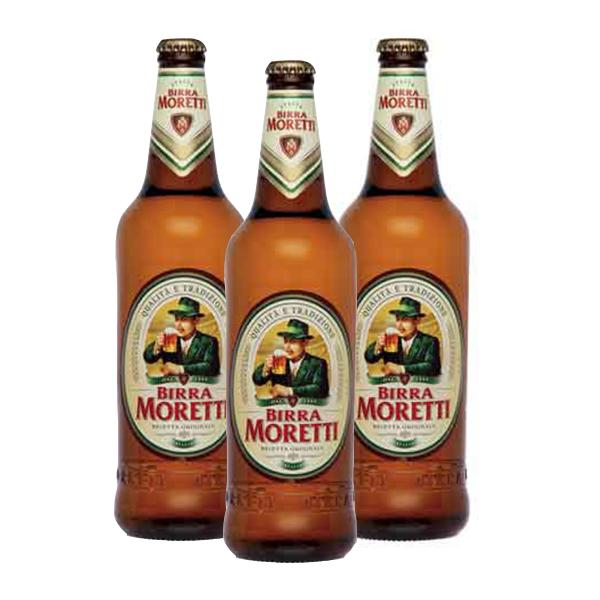 Moretti Lager (33 cl) 3 pezzi