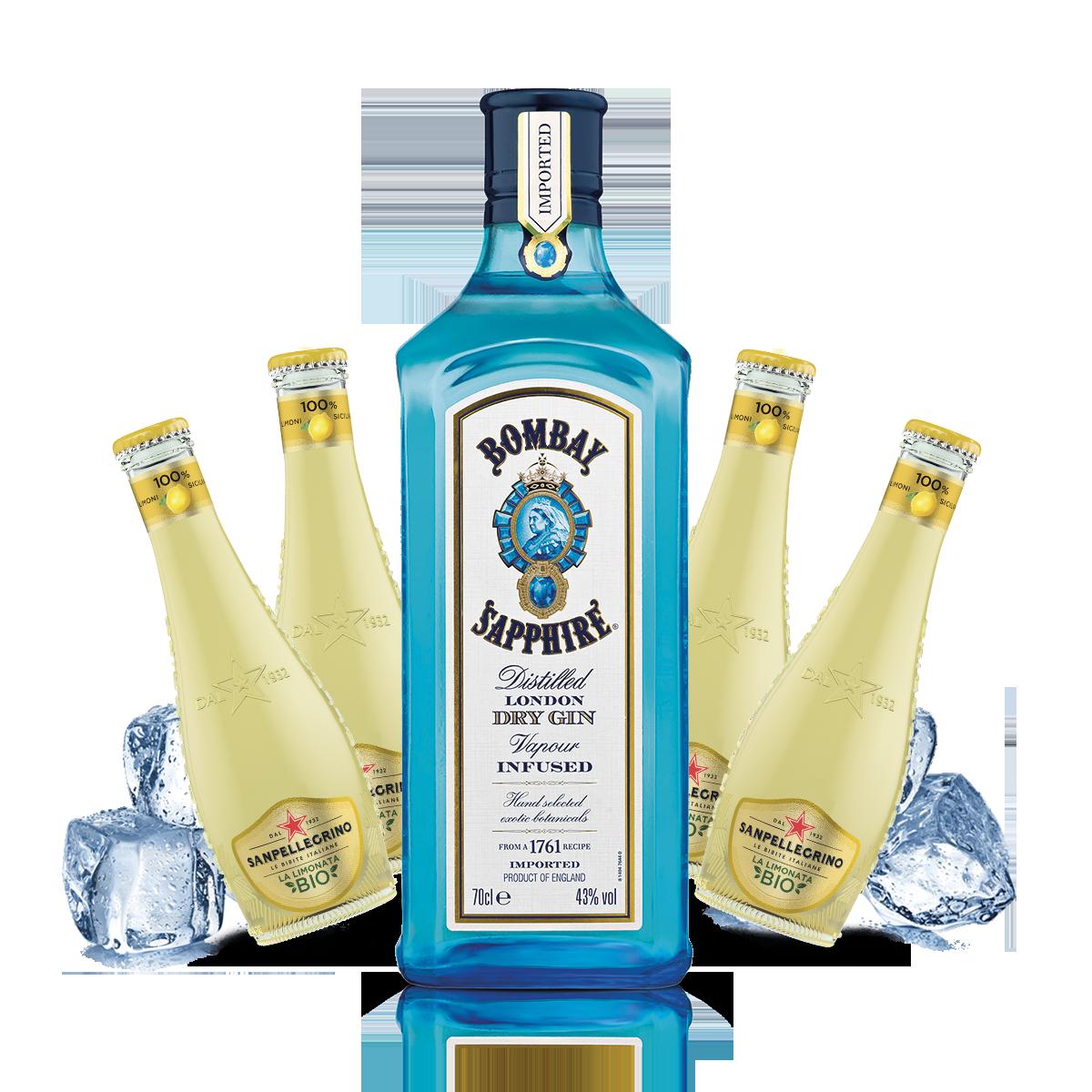 Bombay - Gin Lemon Kit - per 10 persone