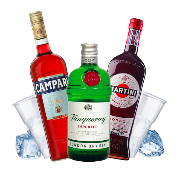 Tanqueray - Negroni Cocktail Kit - per 16 persone