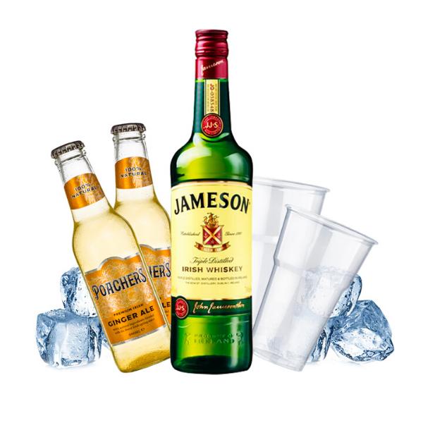 Jameson e Ginger Ale Kit - per 10 persone