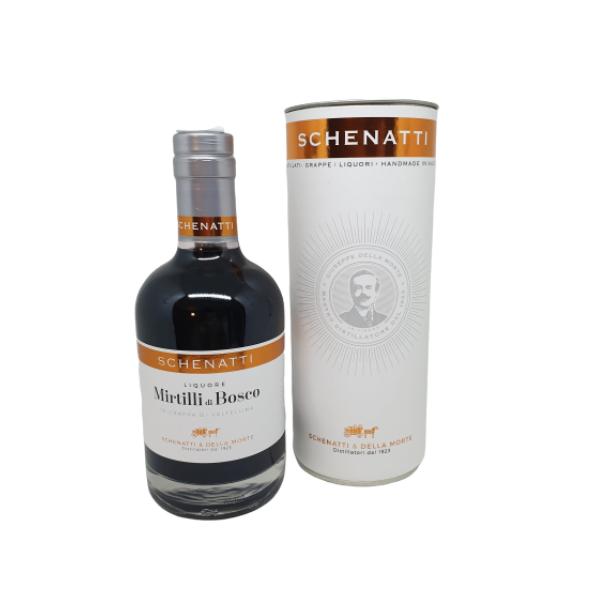 Liquore Grappa & Mirtilli Delux - Astucciato (35 cl)