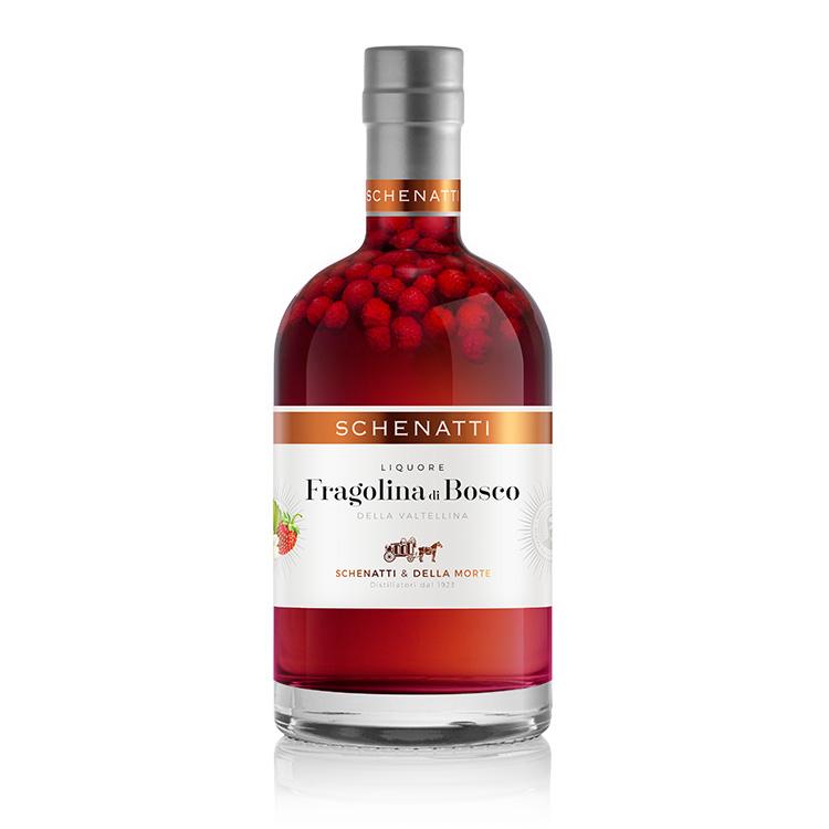 Liquore Fragolina di Bosco Delux - Astucciato (35 cl)