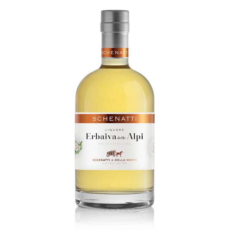 Liquore Erbaiva D'Alpe Delux - Astucciato (35 cl)