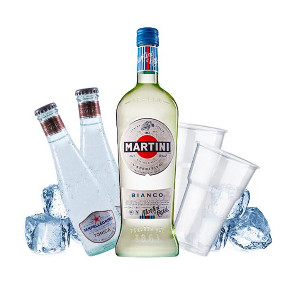 Martini Bianco e Tonic Kit - per 10 persone