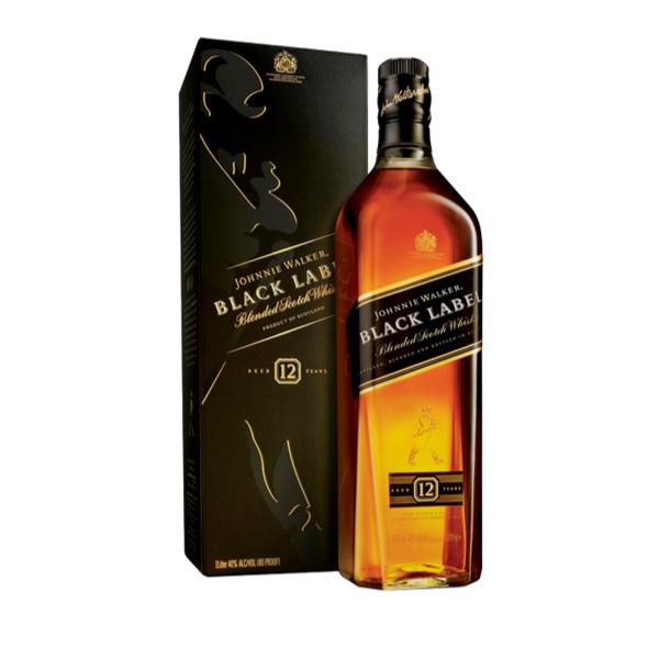 Scotch Whisky Black Label 12 annni astucciato (70 cl)