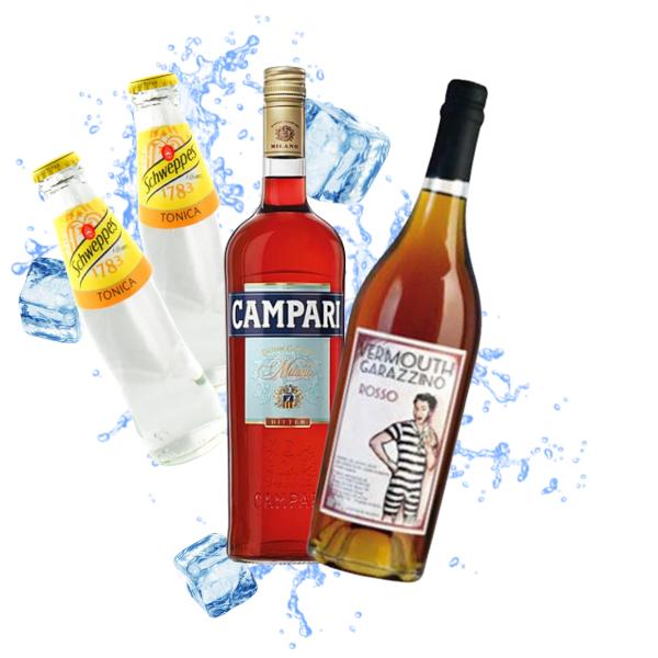 Garazzino - Americano Cocktail Kit - per 10 persone