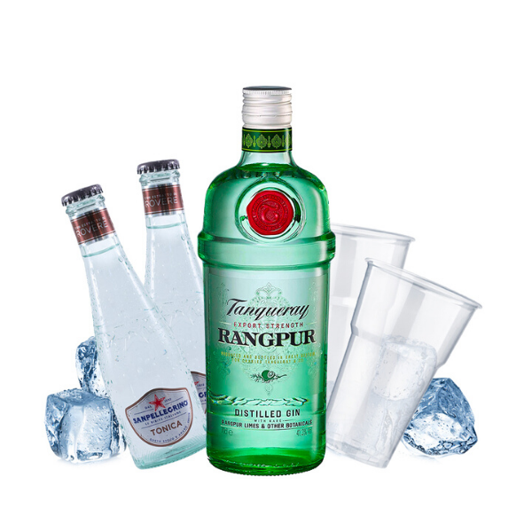 Tanqueray Rangpur - Gin Tonic Kit - per 10 persone