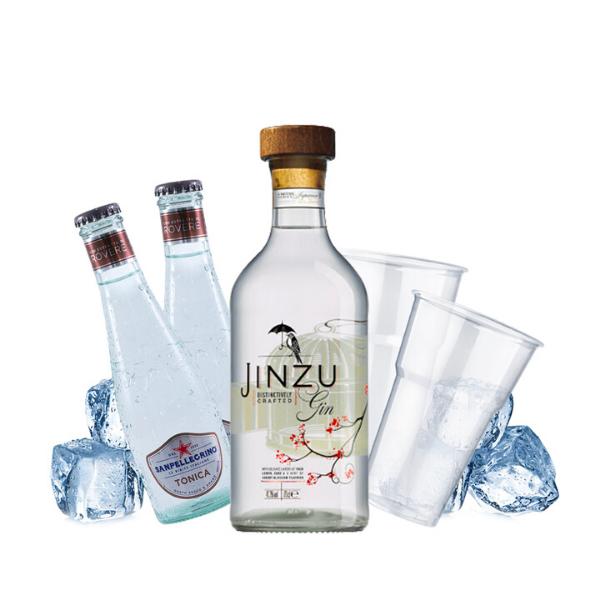 Gin Jinzu - Gin Tonic Kit - per 10 persone