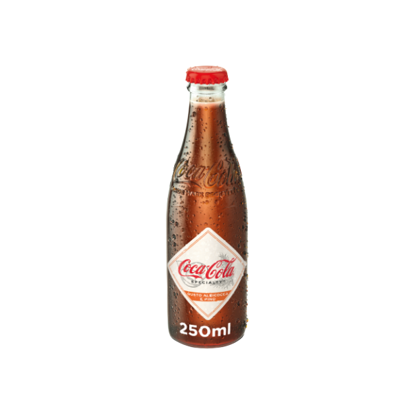 Coca Cola Albicocca e Pino