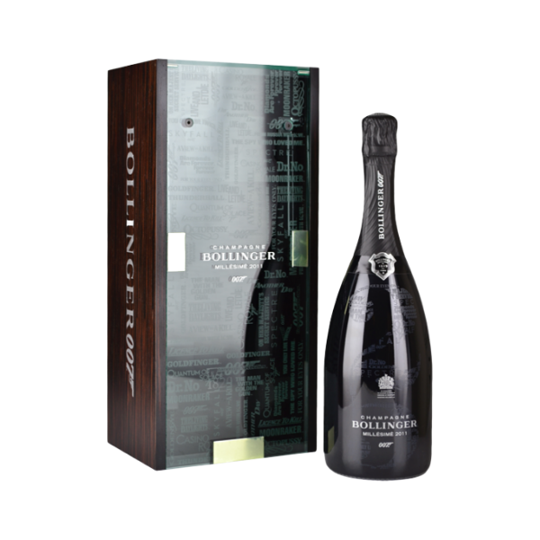 """Champagne Bollinger """"007"""" Millésime 2011 LIMITED EDITION"""