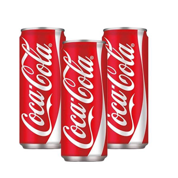 Coca Cola lattina (33 cl) 3 pezzi