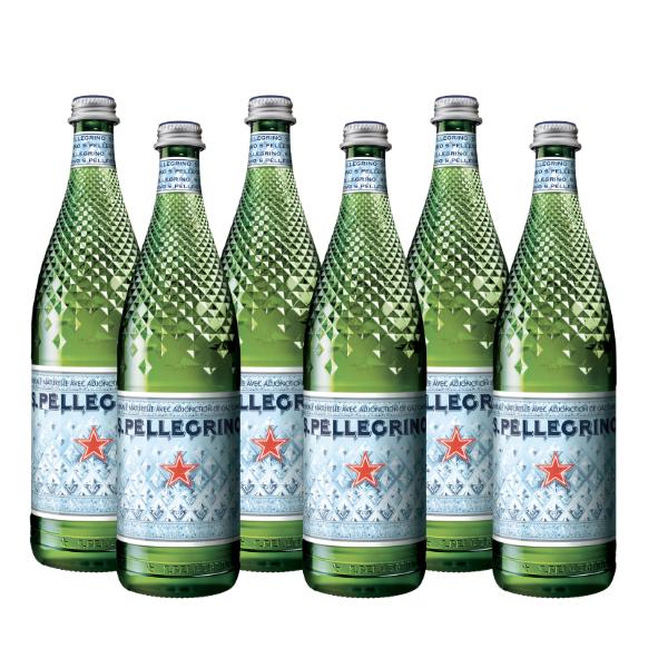Acqua Frizzante S.Pellegrino Diamond (75 cl) x6 - Temperatura Ambiente