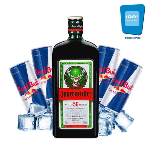 Jäger Bomb Cocktail Kit x 10