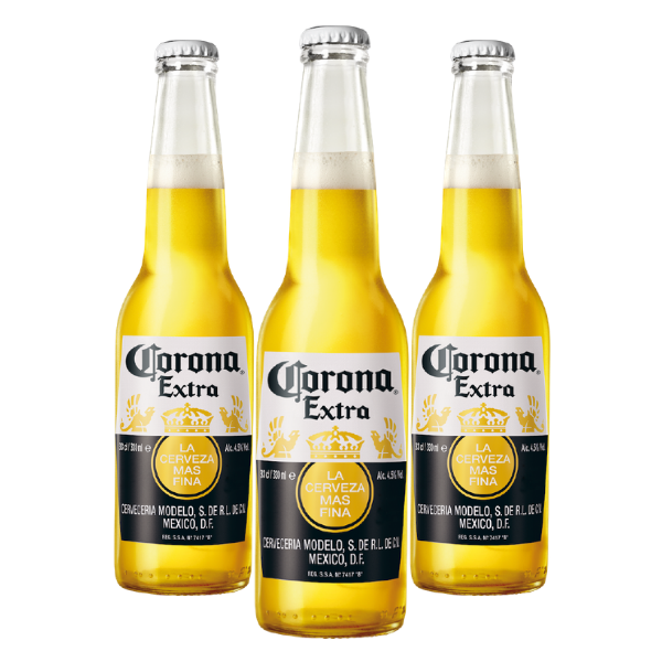Corona Extra (33 cl) 3 pezzi