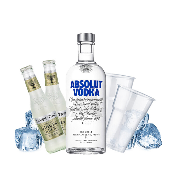 Absolut - Moscow Mule Kit - per 10 persone