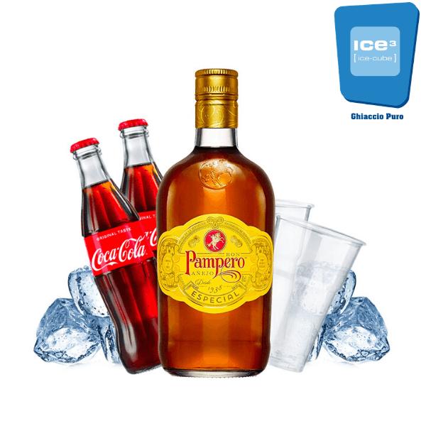 Pampero - Rum e Cola Kit - per 10 persone