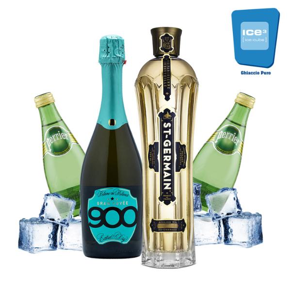 St-Germain - Hugo Cocktail Kit - per 8 persone