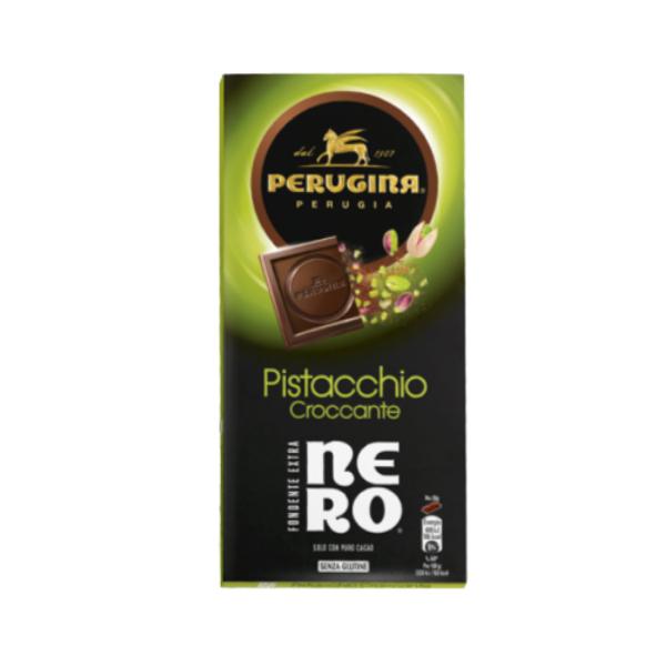 Cioccolato Fondente Extra con Pistacchio Croccante Gluten Free (85 g)