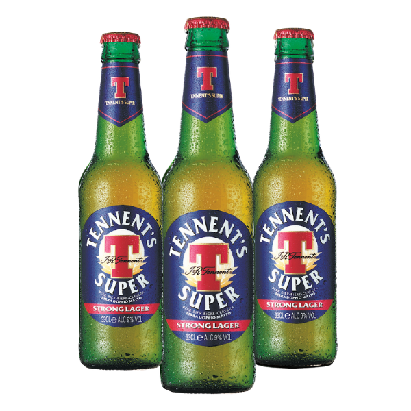 Tennent's Strong Lager (33 cl) - 3 pezzi