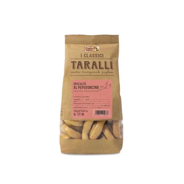 Taralli al Peperoncino (250 g)