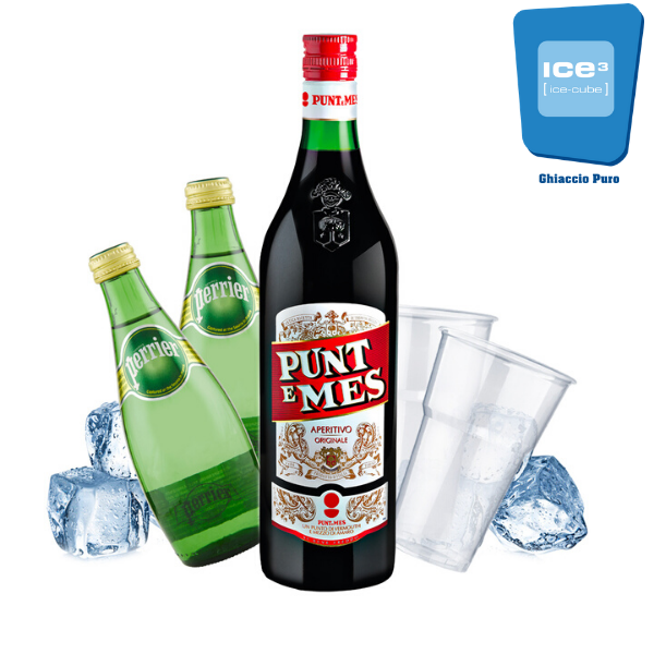 Punt E Mes Yes Cocktail Kit - per 10 persone