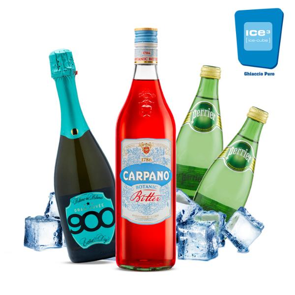 Carpano Spritz Cocktail Kit - per 10 persone