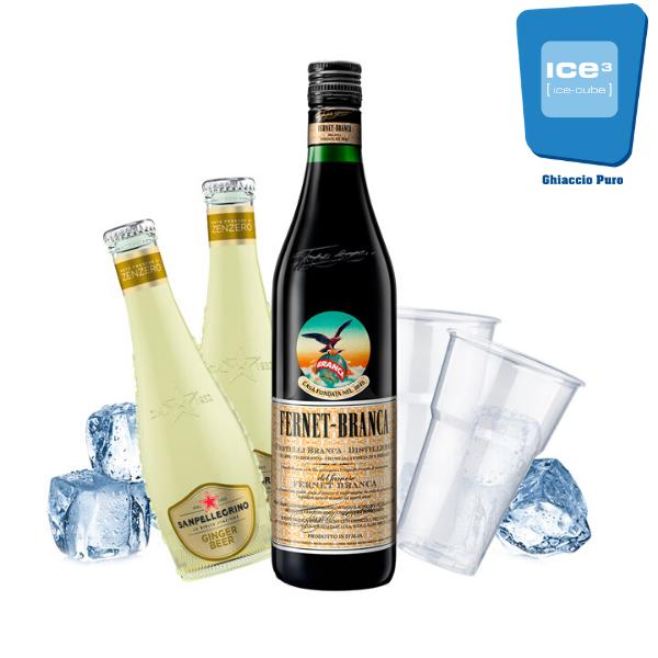 Fernet e Ginger Beer Cocktail Kit - per 10 persone