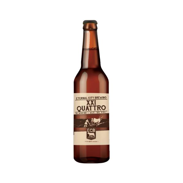 Birra XXI Quattro Blanche (33 cl)