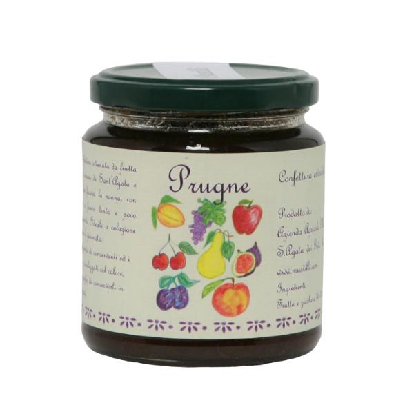 Confettura Naturale di Prugne (300 g)