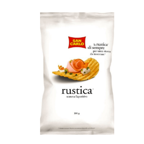 Patatine Rustica (190 g)
