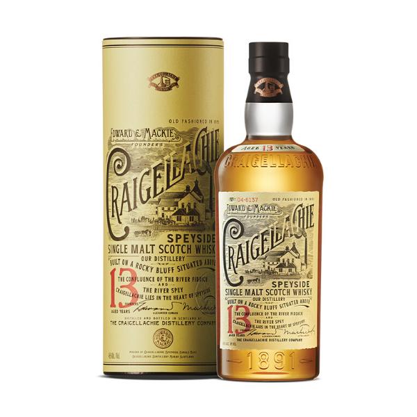 Single Malt Scotch Whisky Craigellachie 13