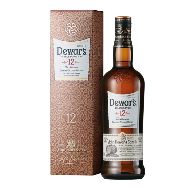 Blended Scotch Whisky Dewar's 12