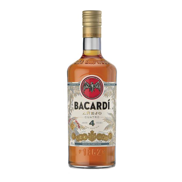 Bacardi Añejo Cuatro